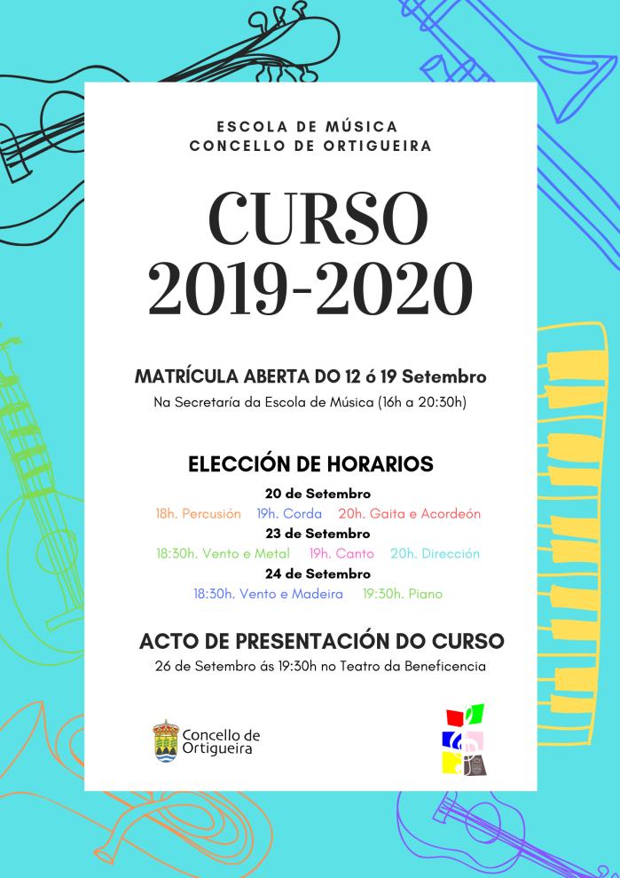 cartel septiembre 2019. matriculas emco