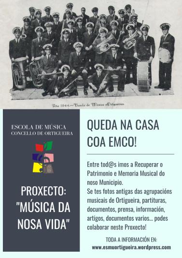 Proxecto Música da Nosa Vida. EMCO