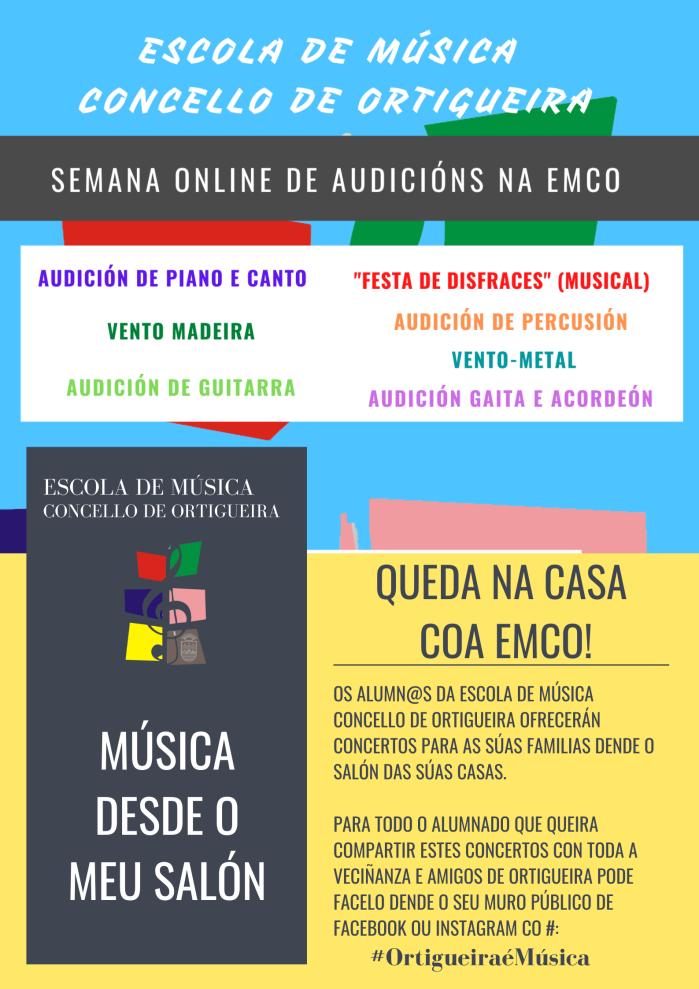 Semana Online de Audicións EMCO