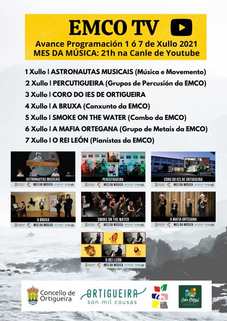 1 A 7 JULIO MES DA MUSICA